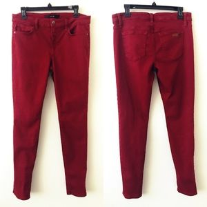 JOE'S JEANS Red The Skinny Visionaire Jeans